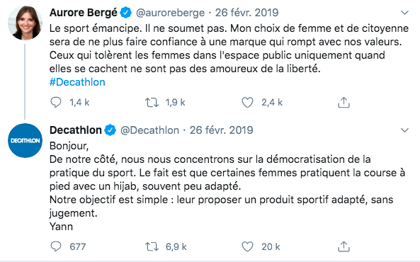 community manager decathlon